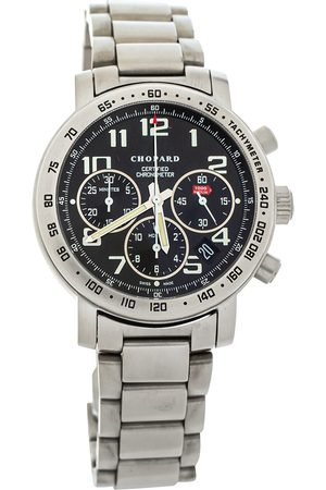 Chopard Black Titanium Mille Miglia Chronograph 15/8915 Men's Wristwatch 39 mm