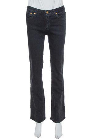 Roberto Cavalli Black Denim Flared Jeans S