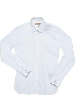 Burberry White Cotton Selden Long Sleeve Button Front Shirt XS