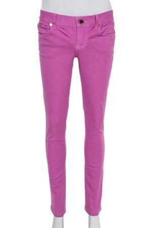 Ralph Lauren 888 Pink Denim Straight Fit Jeans S