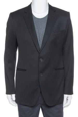 Dolce & Gabbana Black Wool Tailored Sports Jacket XL