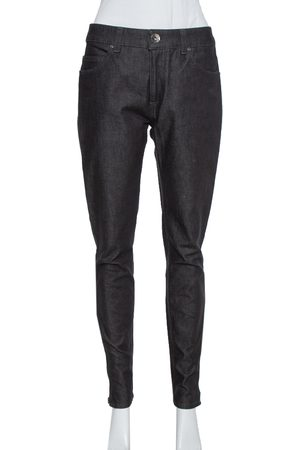 Emporio Armani Black Denim Slim Fit Jeans M
