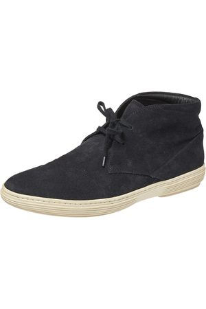 Tod's Black Suede Desert Ankle Boots Size 40