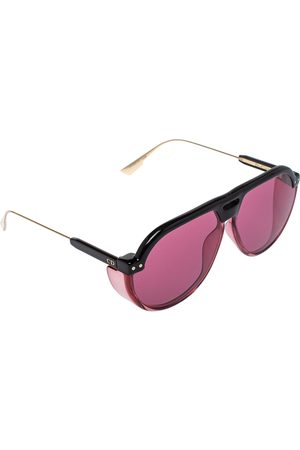 Dior Pink/Black Club3 Aviator Sunglasses