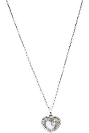 Chopard Very Diamond 18K White Gold Pendant Necklace