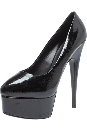 Giuseppe Zanotti Black Patent Leather Platform Pumps Size 40