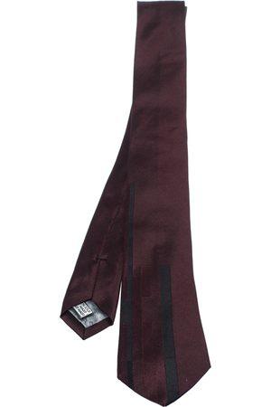 Dior Homme Bordeaux Silk Skinny Tie