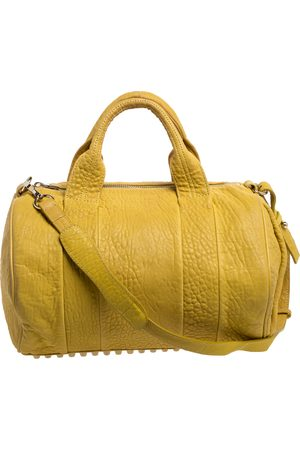 Alexander Wang Yellow Leather Rocco Duffle Bag