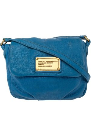Marc Jacobs Blue Leather Classic Q Isabelle Crossbody Bag