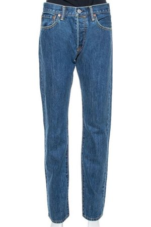 Burberry Blue Denim Farndon Straight Leg Jeans M