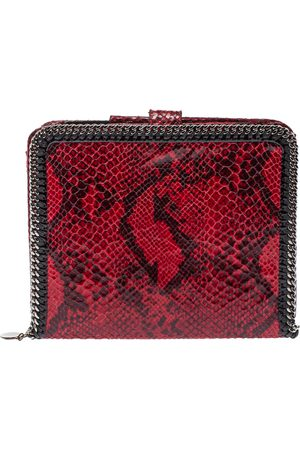 Stella McCartney Red Python Print Faux Leather Falabella iPad Holder