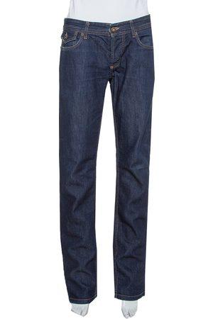 Dolce & Gabbana D&G Navy Blue Denim Straight Leg Jeans S