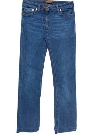 Roberto Cavalli Indigo Denim Straight Fit Jeans S