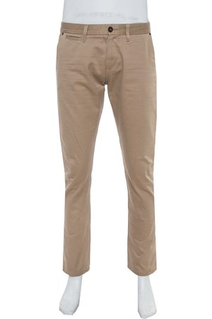Burberry Brit Beige Denim Straight Leg Jeans L