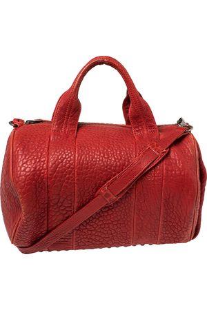 Alexander Wang Red Pebbled Leather Mini Rockie Satchel