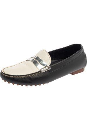Ralph Lauren Ralph Lauren Tricolor Leather Penny Slip On Loafers Size 39