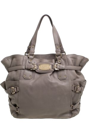 Michael Kors Grey Soft Leather Gansevoort Tote