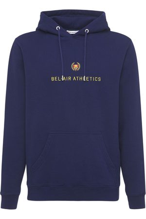 BEL-AIR ATHLETICS Cotton Hoodie W/big Embroidered Logo