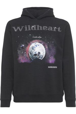 ELEGANTASTE Cotton Wildheart Printed Hoodie