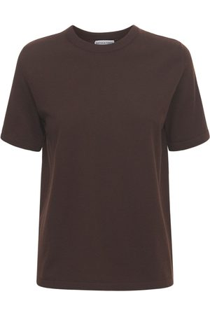 Bottega Veneta Women Tops - Cashmere Knit Short Sleeved Top