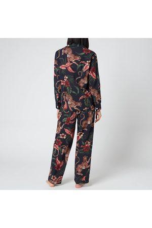 Desmond & Dempsey Women Pajamas - Women's Soleia Long Set
