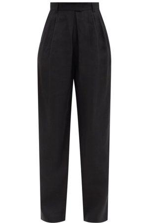 Mara Hoffman Eldora High-rise Hemp-twill Tailored Trousers - Womens