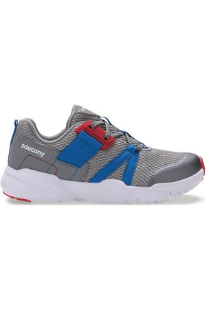 Saucony Kids Sneakers - Vertex Lace Sneaker GreyBlueRed