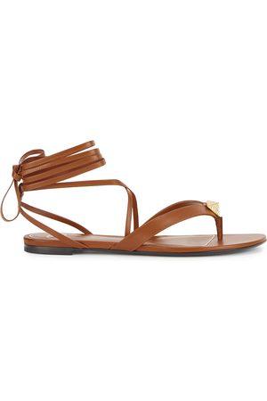 VALENTINO Women Sandals - Garavani Upstud leather sandals