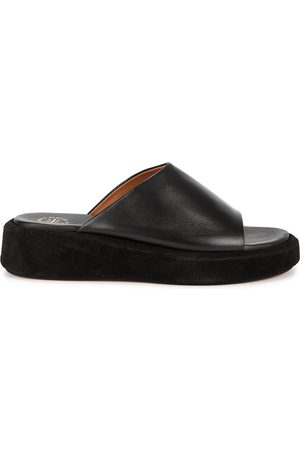 ATP Atelier Pacci 50 leather flatform sliders