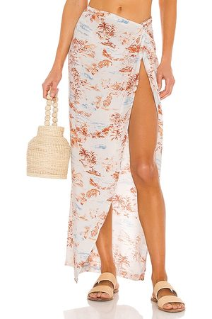 L*Space Mia Cover Up in White.