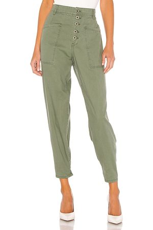 Pistola Tammy High Rise Trouser in Green.