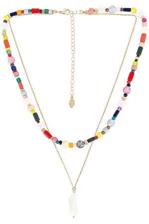 8 Other Reasons Bridie Necklace in Metallic .