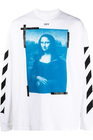 OFF-WHITE Men Sweatshirts - Mona Lisa Arrow sweatshirt