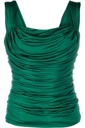 Dolce & Gabbana Draped sleeveless top