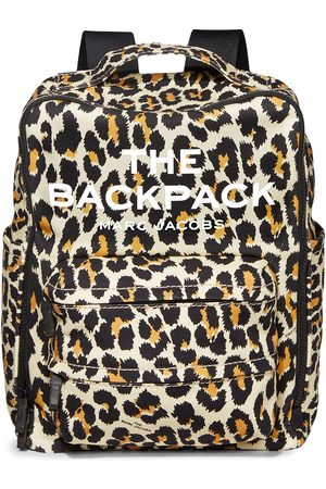 Marc Jacobs The Backpack leopard-print backpack - Neutrals
