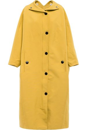 Prada Single-breasted hooded raincoat