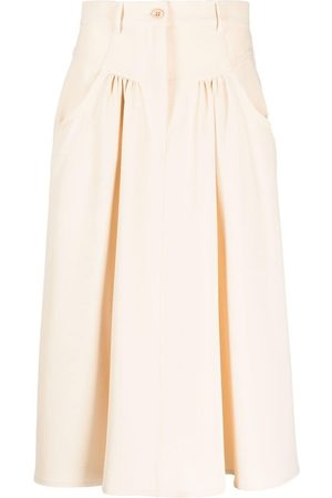 See by Chloé Women Midi Skirts - Mid-length skirt - Neutrals