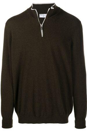 FEDELI Men Sweatshirts - Zipped cashmere jumper