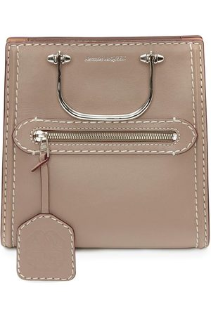 Alexander McQueen The Short Story crossbody bag - Neutrals