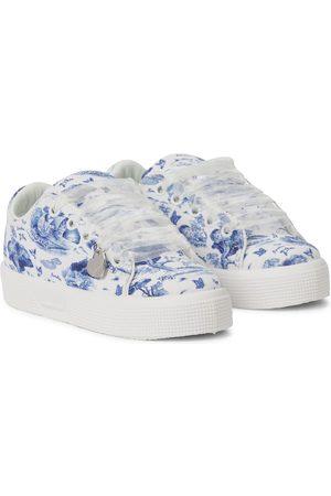 MONNALISA Girls Sneakers - X Disney® printed canvas sneakers
