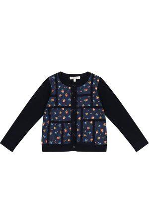 BONPOINT Girls Cardigans - Liberty-print floral cotton cardigan