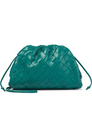 Bottega Veneta Women Clutches - The Pouch Intrecciatio Small leather clutch