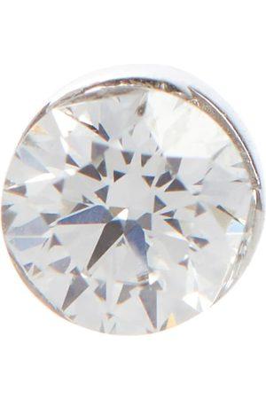 Maria Tash Invisible 18kt white single earring with white diamond