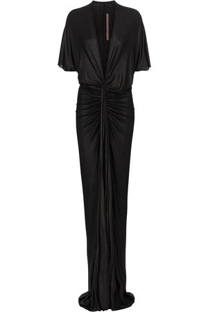 Rick Owens Lilies ruched gown