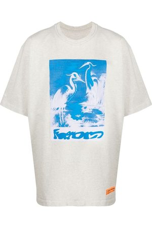 Heron Preston Men Short Sleeve - Herons short-sleeve T-shirt - Neutrals