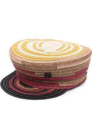 Le Mont St Michel Woven-raffia hemp hat