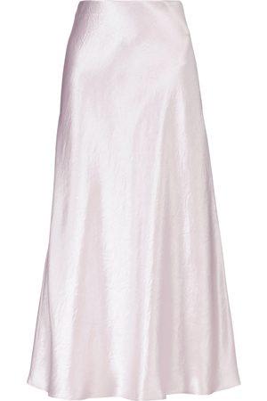 Max Mara Women Midi Skirts - Leisure Alessio satin midi skirt