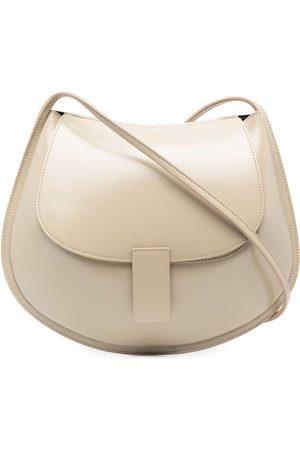 Jil Sander Leather shoulder bag - Neutrals