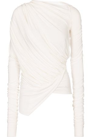 Rick Owens Lilies draped asymmetric top