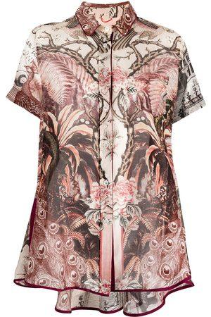 F.R.S For Restless Sleepers Short-sleeve botanical-print shirt